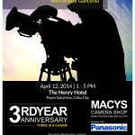 MAJOR ANNOUNCEMENT: Due to a schedule conflict from our Speaker, we will have to move our Film Making and Video Production Workshop with Buddy Gancenia from April 10 to April 12, 2014 1-5pm. We are sorry for the sudden changes. Please share. See you all. Registration continues for FREE at our MACYS Banilad or APM Mall Branches. :)