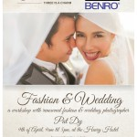 MACYS on it's 3rd Year Anniversary together with Benro and BlackRapid brings you Fashion and Wedding Photography Workshop with renowned Fashion and Wedding Photographer Pat Dy on April 9, 2014 9am-5pm at The Henry Hotel. Registration on-going for FREE at MACYS Banilad and APM Mall Branches :) Very Limited slots left :)