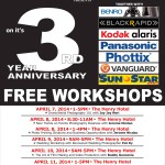 MACYS 3rd Year Anniversary FREE WORKSHOPS