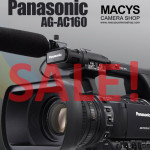 Panasonic AG-AC160 on SALE - now only at P201,000 (3yrs Panasonic Philippines Warranty) :) with FREEBIES of a Panasonic AG-MC200G worth P16,000 and a Toshiba Exceria 32gb UHS-1 Class 10 95mb/s worth P3,400 :)