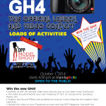 Join the Panasonic GH4 Official Launch and Video Contest and win the Panasonic GH4 itself! :) Please see poster for more details :)