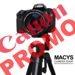 Canon FREE Tripod Promo! :) Buy the following cameras and get the FREE Tripod from Canon;  Canon Eos M10, M3, 1200D, 700D, 750D, 760D, 7D Mark II, 6D, 5D Mark III, 5Ds, 5Ds R, 1DX  Note: - Promo period June 1 - August 16, 2016 - Can be claimed only within 60days after purchase - Tripod has to be claimed from Canon PH only