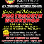 Basic and Advanced Photobooth Workshop by the Photobooth Organization of the Philippines :) Maximize your income by learning more :)